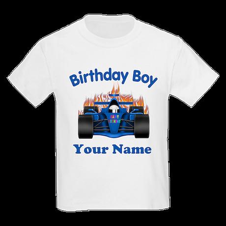 Birthday Boy Car Kids Light T-Shirt