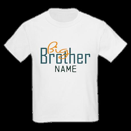 Add Name Big brother Print Kids Light T-Shirt