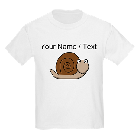 Custom Cartoon Snail T-Shirt