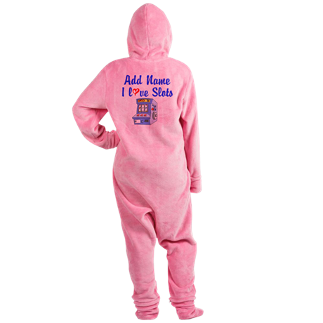 SLOT QUEEN Footed Pajamas