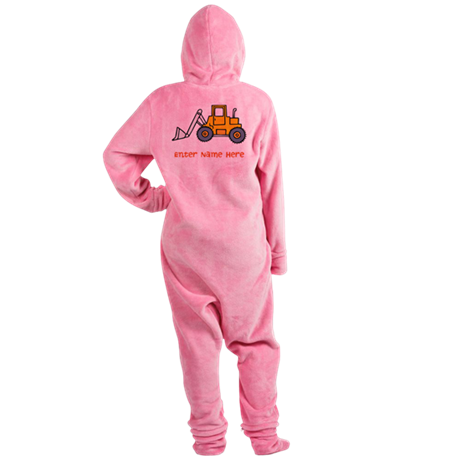 Personalized Loader Footed Pajamas