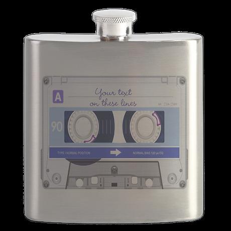 Cassette Tape - Blue Flask