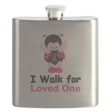 Walk For Ladybug Flask