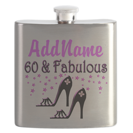 60 & A SHOE QUEEN Flask
