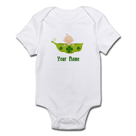 Personalized St Patricks Baby Infant Bodysuit