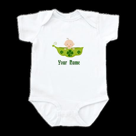 Personalized St Patricks Baby Infant Bodysuit