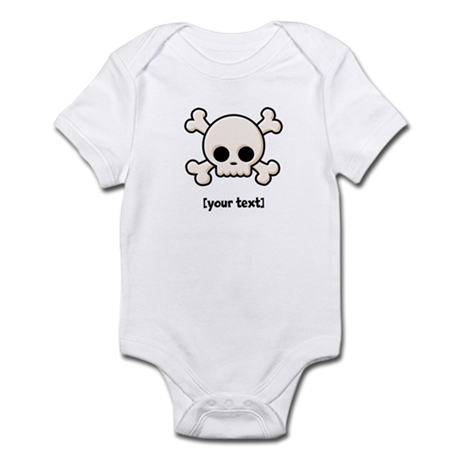[Your text] Cute Skull Infant Bodysuit