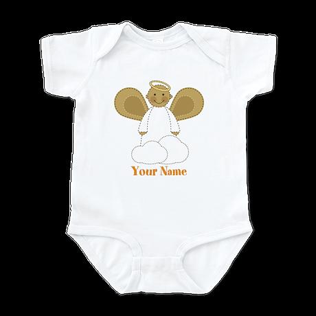 Personalized Christmas Angel Infant Bodysuit