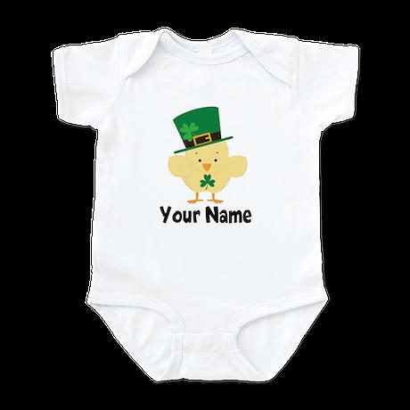 Personalized Irish Chick Infant Bodysuit
