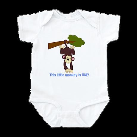 Birthday Monkey Infant Bodysuit