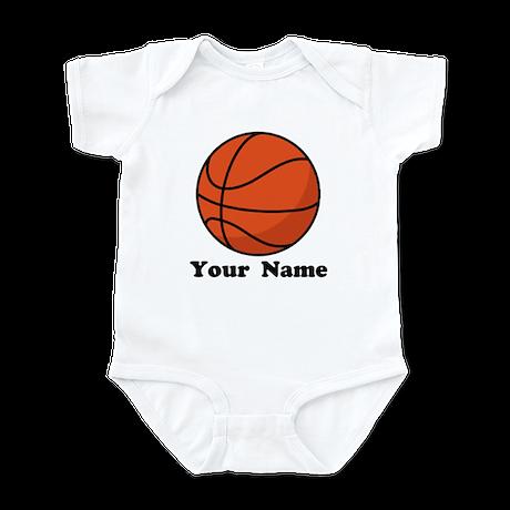 Personalized Basketball Infant Bodysuit