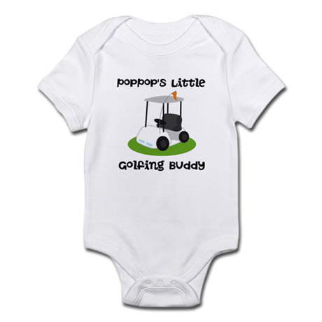 Personalized Golf Infant Bodysuit