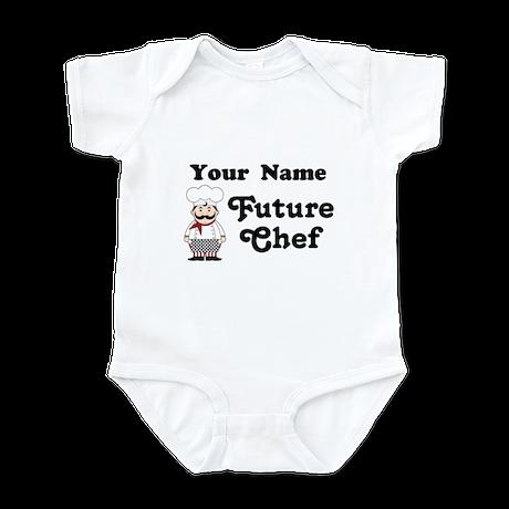 Personalized Future Chef Infant Bodysuit