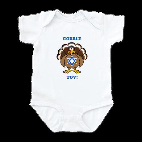 PERSONALIZE Thanksgiving Hanukkah Infant Bodysuit