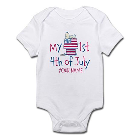 Peanuts - First 4th of July Infant Bodysuit