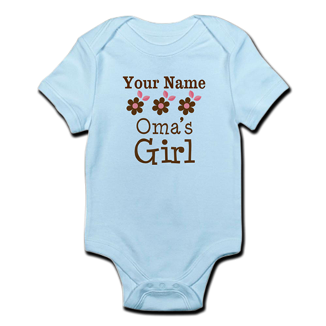 Personalized Oma's Girl Infant Bodysuit