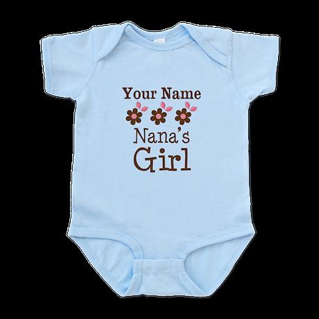 Personalized Nana's Girl Infant Bodysuit