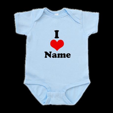 I heart Infant Bodysuit
