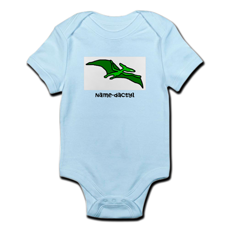 Name your own Pterodactyl! Infant Bodysuit