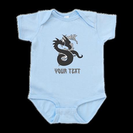 Dragon Design and Writing. Infant Bodysuit