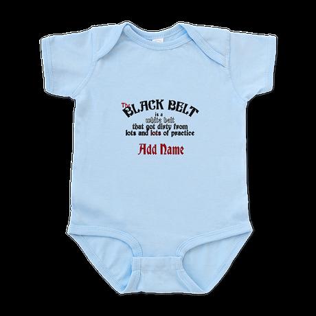 The Black Belt is Infant Bodysuit