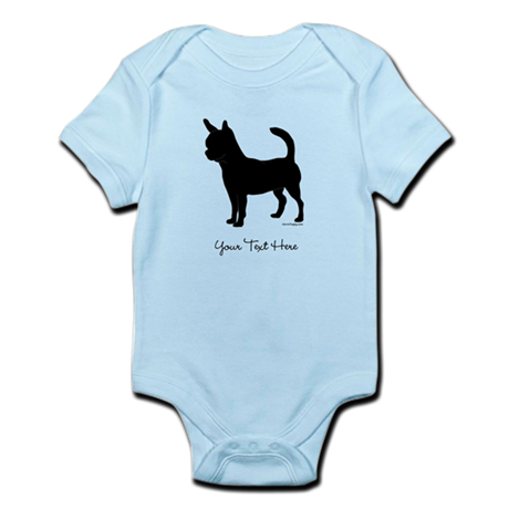 Chihuahua - Your Text Infant Bodysuit