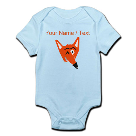 Custom Winking Fox Body Suit