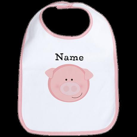 Personalized Pig Bib