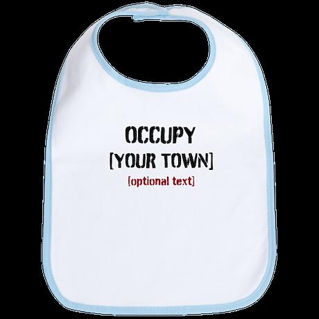 PERSONALIZE Occupy Bib