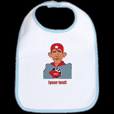 Anti-Obama election 2012 personalized Bib