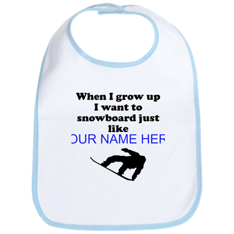 Snowboard Just Like (Custom) Bib