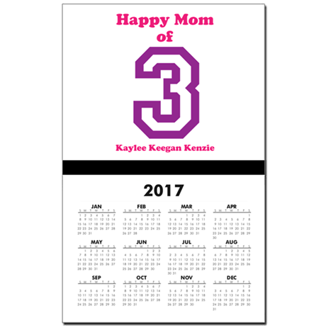 Personalized Mother Calendar Print