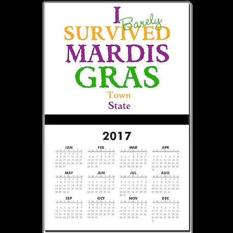 Your Mardis Gras Calendar Print