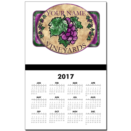 Your Vineyard Calendar Print