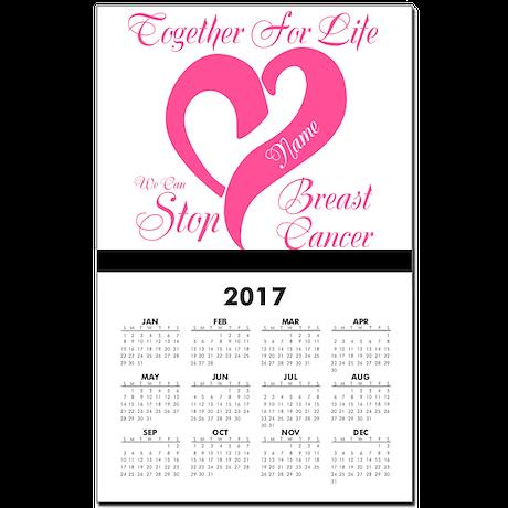 Personalize Front Calendar Print