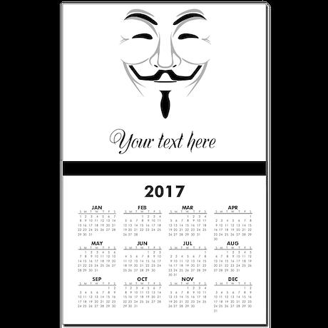V for Vendetta Calendar Print