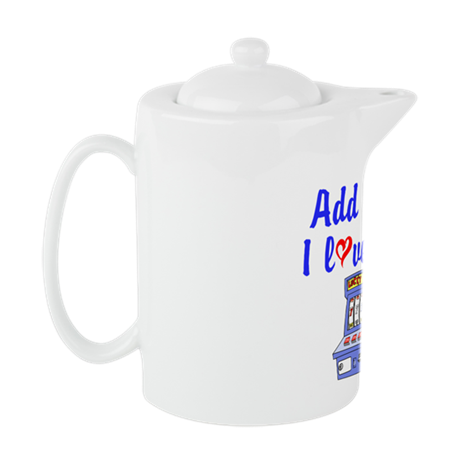 SLOT QUEEN Teapot