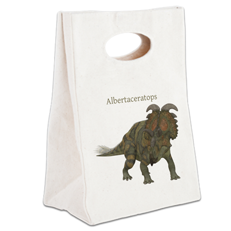 Albertaceratops Canvas Lunch Tote