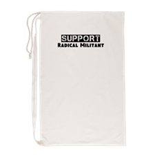 Cute Support radical militant Laundry Bag