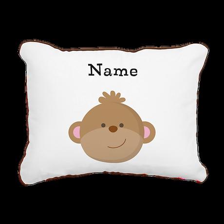 Personalized Monkey Pillow