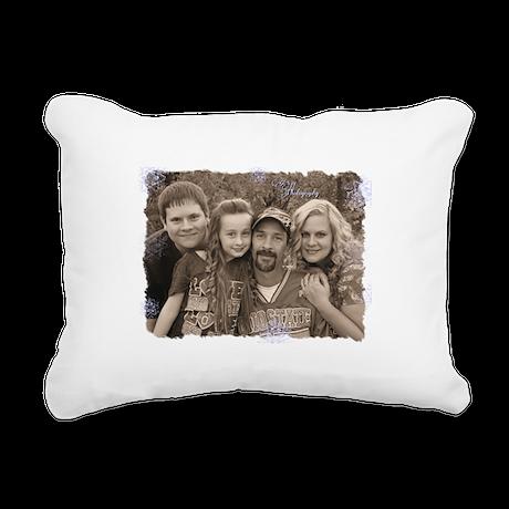 Custom photo Rectangular Canvas Pillow