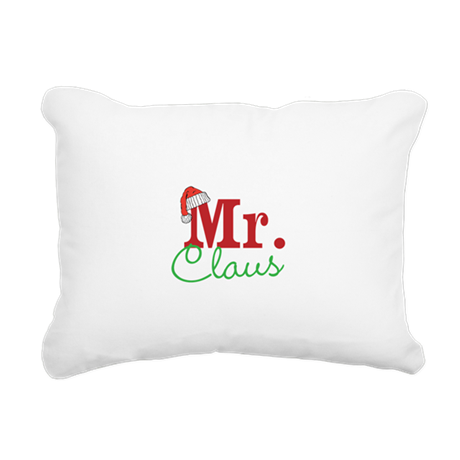Christmas Mr Personalizable Rectangular Canvas Pil