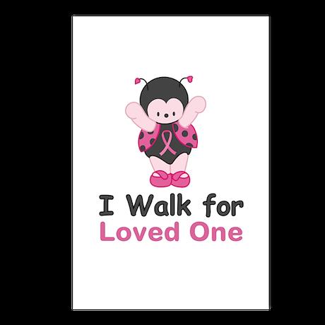 Walk For Ladybug Postcards (Package of 8)