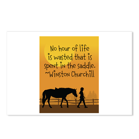 Horse and Child Postcards (Package of 8)