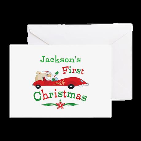 Custom 1st Christmas Greeting Cards (Pk of 10)