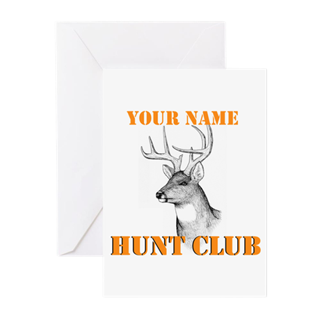 Custom Hunt Club Greeting Cards (Pk of 10)