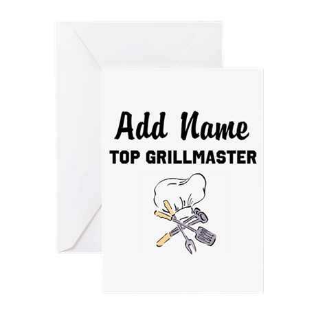 GRILLMASTER Greeting Cards (Pk of 10)