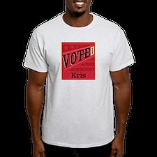 Unique Vote for kris T-Shirt