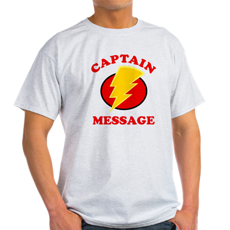 Personalized Super Hero Light T-Shirt