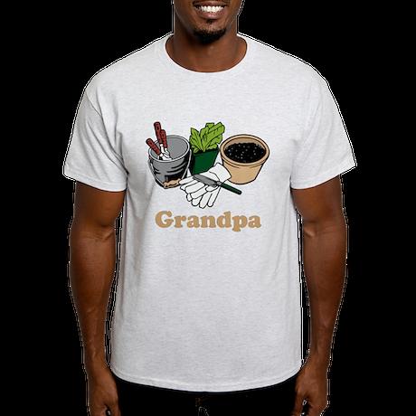 Gardening Grandpa. Light T-Shirt